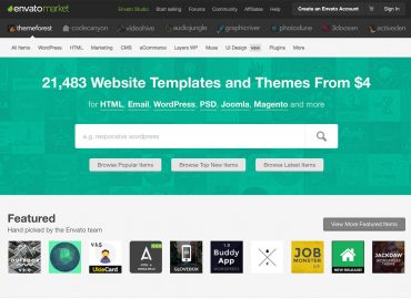 Làm thế nào để tìm được một Theme WordPress tốt trên Themeforest