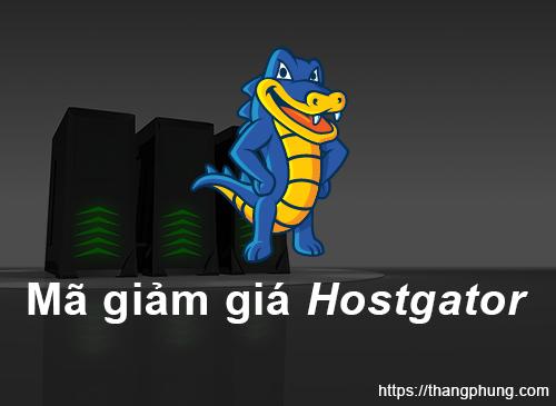 Mã giảm giá Hostgator: Giúp bạn tiết kiệm tối đa 60%.