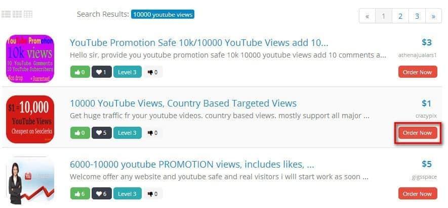 Hướng dẫn mua view Youtube Seoclerk
