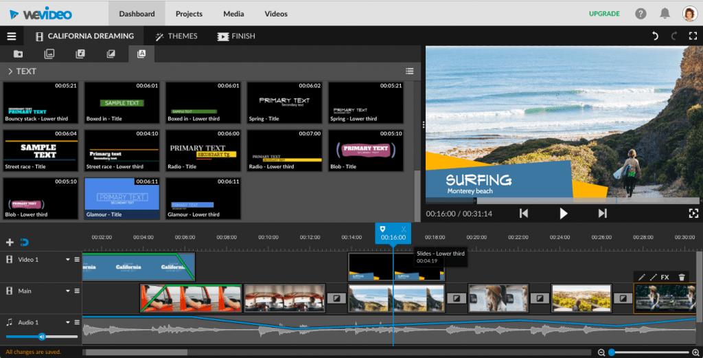Công cụ chỉnh sửa video online tốt nhất
