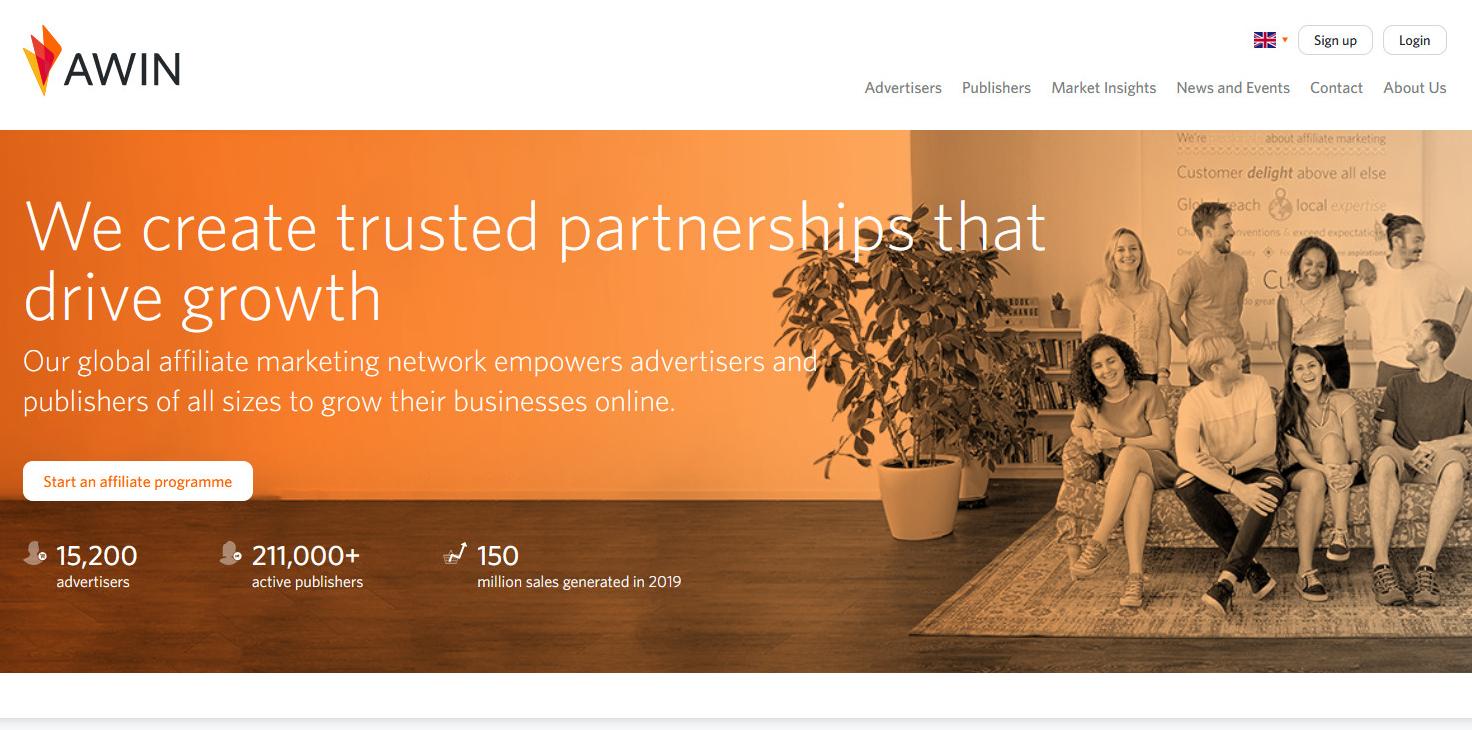 Awin - Nền tảng tiếp thị liên kết đã mua lại ShareASale