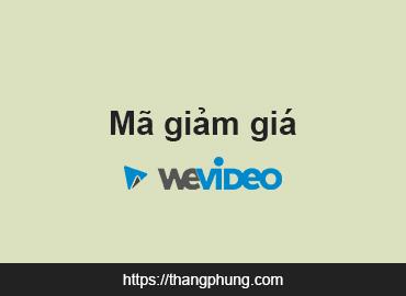 Mã giảm giá WeVideo – Black Friday & Cyber Monday 2020