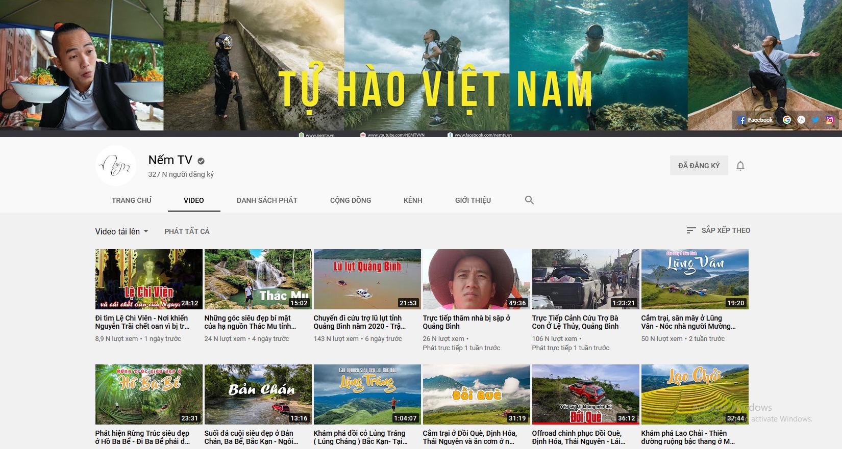 Vlogger Nếm TV